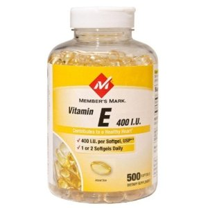Vitamin E 400 IU, 500 Softgels Members Mark