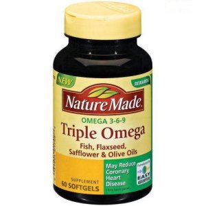 Triple Omega, Omega 3 6 9 Nature Made