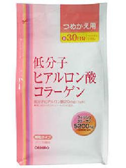 Collagen and hyaluronic acid Orihiro Refill 210g làm đẹp da
