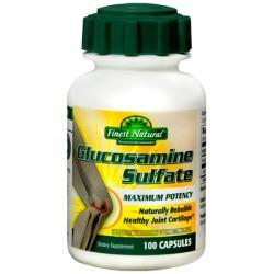 Finest Glucosamine MSM -100 table