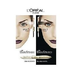 Mascara Loreal Double Extention (France)