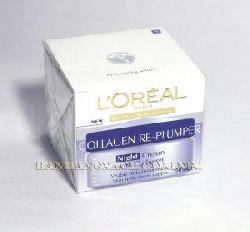 Loreal Collagen Re-Plumper Night Cream