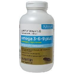 Simply Right Omega 3 - 6 - 9 plus