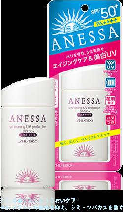 Kem chống nắng Shiseido ANESSA whitening uv protector spf 50
